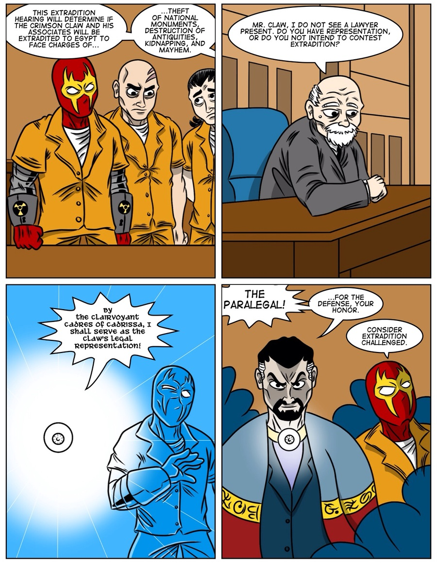 Lawyer'd Up