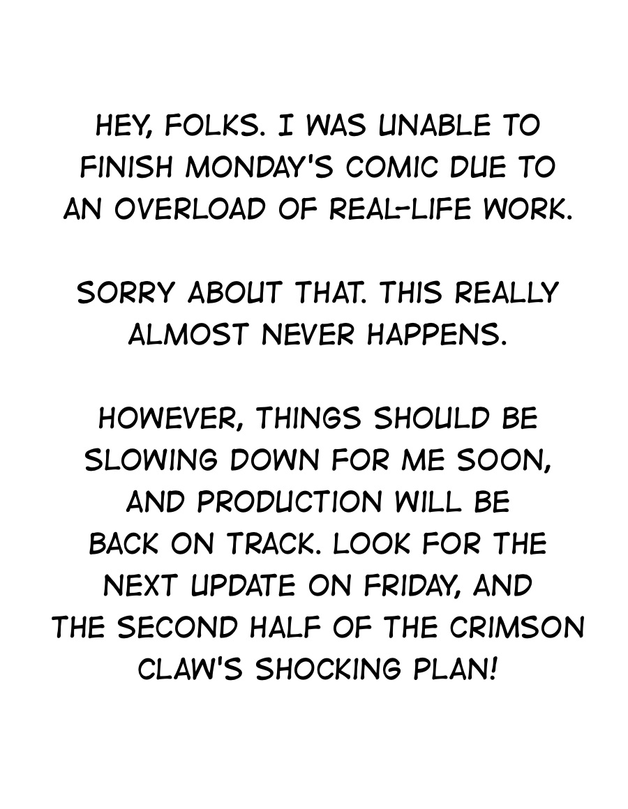 Slight Delay…